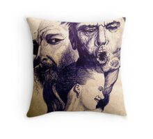 Jack's O Doesn't Go Completely Unnoticed  Throw Pillow