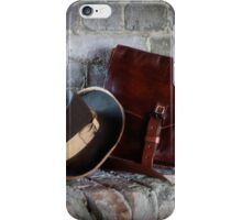Civil War Hat and Sack iPhone Case/Skin