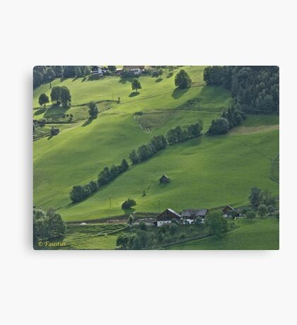 Schladming . Styria . Austria . Wonderful Remembers Never Fade. Canvas Print