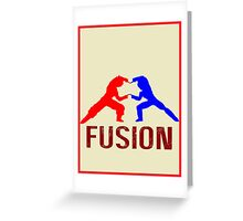 Fusion (V2) Greeting Card