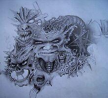 Inner Demons #4 - work in progress 02 by Cyeclops