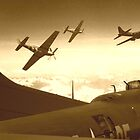 The Final Mission (Sepia Version) by Wayne Gerard Trotman