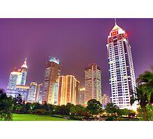 Shanghai Nights Photographic Print