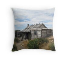 Craigs Hut - High Country Victoria Throw Pillow