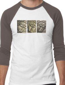 three Buddha images Men's Baseball ¾ T-Shirt