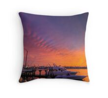 Sky Paint Throw Pillow