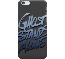 Ghost stands alone iPhone Case/Skin