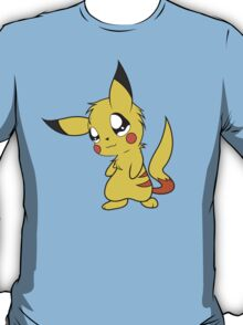pokemon pikachu pichu cute chibi anime shirt T-Shirt