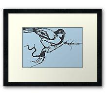 Bird Song Spring Time Framed Print