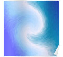 Abstract Swirl 6 Poster