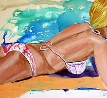 Beach Summer by gillsart