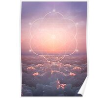 The Sun Is But A Morning Star (Geometric Sunrise) Poster