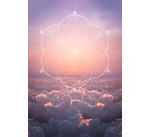 The Sun Is But A Morning Star (Geometric Sunrise) Photographic Print