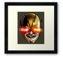 The Flash V The Reverse Flash Framed Print