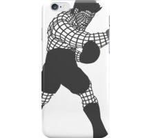 Smash WireMacDarkGrey iPhone Case/Skin