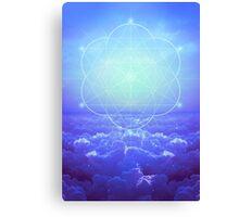 All but the Brightest Star (Sirius Star Geometric) Canvas Print