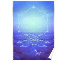 All but the Brightest Star (Sirius Star Geometric) Poster