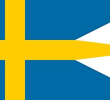Variant Flag of Sweden by abbeyz71