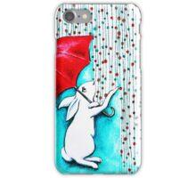 Caught in the Rain iPhone Case/Skin