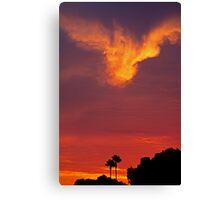 SoCal Sunset 9/11 Canvas Print