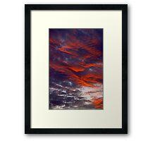 SoCal Sunset 2 Framed Print
