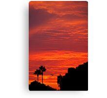 SoCal Sunset 3 Canvas Print
