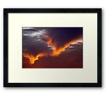 SoCal Sunset 4 Framed Print