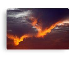SoCal Sunset 4 Canvas Print