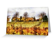 castle ashby grounds Greeting Card