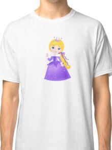 Cute Princess in a violet dress Classic T-Shirt