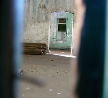 through the crack in the door..... Melbourne by Juilee  Pryor
