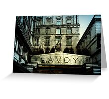 Savoy Greeting Card