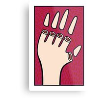 The hand of fate Metal Print