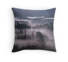 White Mountain Dawn Throw Pillow