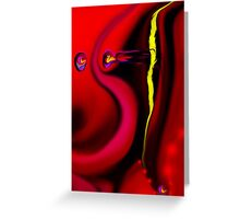 Untitled abstract 134 art + design products Greeting Card