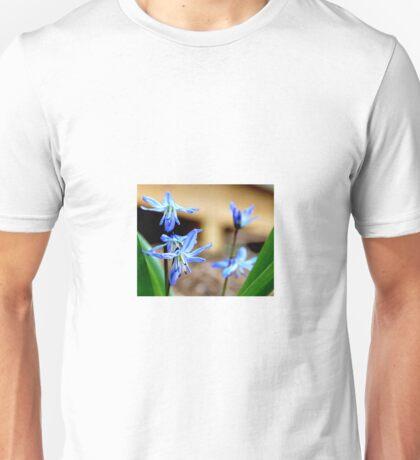 Little Blue Flowers Unisex T-Shirt