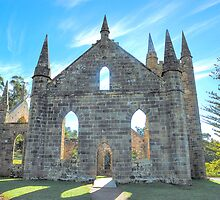 Hope - Port Arthur  Church - Port Arthur Historic Site - The HDR Experience by Philip Johnson