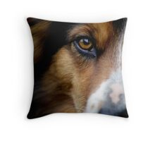 Hanna's stare Throw Pillow