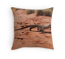 Looking for the next meal Throw Pillow