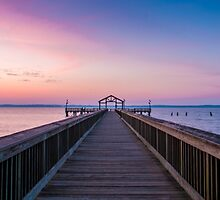 Morning Pier by Alexander Butler