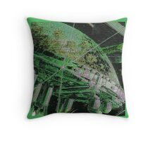 Dangerous Ground Throw Pillow