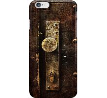 Abandoned Lock Fine Art Print iPhone Case/Skin