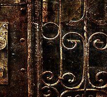 Abandoned Lock Fine Art Print by stockfineart
