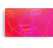 Tears of a Woman-Abstract Art + Design products Canvas Print