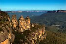 The Three Sisters Echo Point Katoomba - HDR by DavidIori