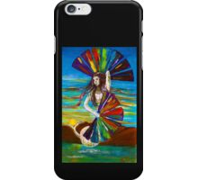 Rainbow Goddess after the Rain iPhone Case/Skin