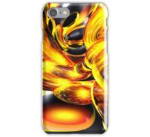 Golden Cosmos Abstract iPhone Case/Skin