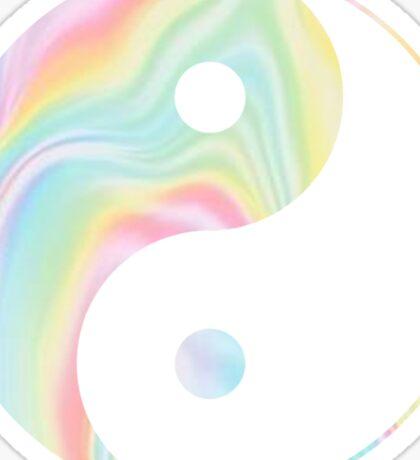 Tie Dye Yin Yang Sticker