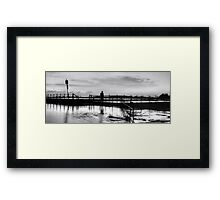 The Swimmer - Mona Vale Beach - The HDR Experience Framed Print