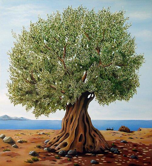 Olive Tree by Gogo Korogiannou